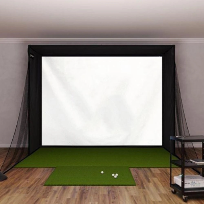 Complete Home Studio Package (Projector, Impact Screen, Enclosure, Mat)