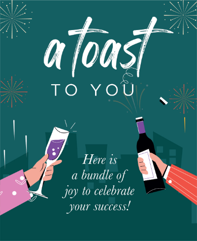 A toast to you - LV2Q