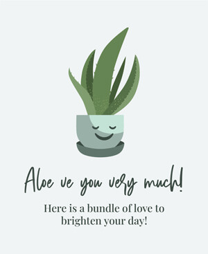 Aloe ve You Very Much UVO7