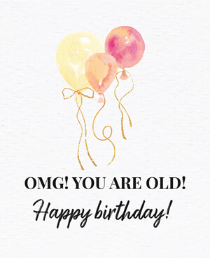 Omg you are old Happy Birthday-WMNT