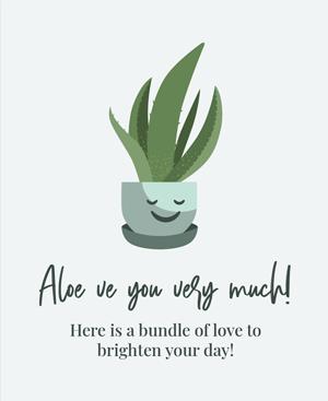 Aloe ve You Very Much UVO7