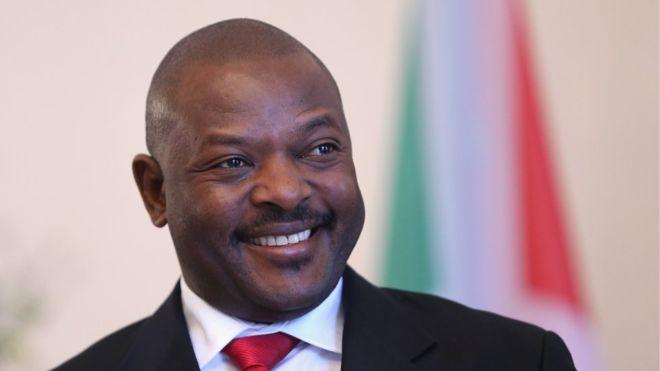 President Pierre NKURUNZIZA