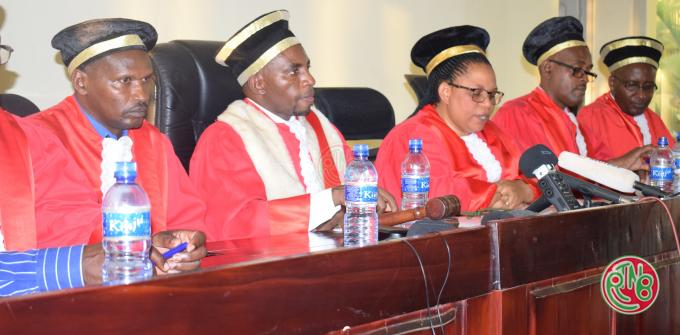 Proclamation resultats elections burundi 2020