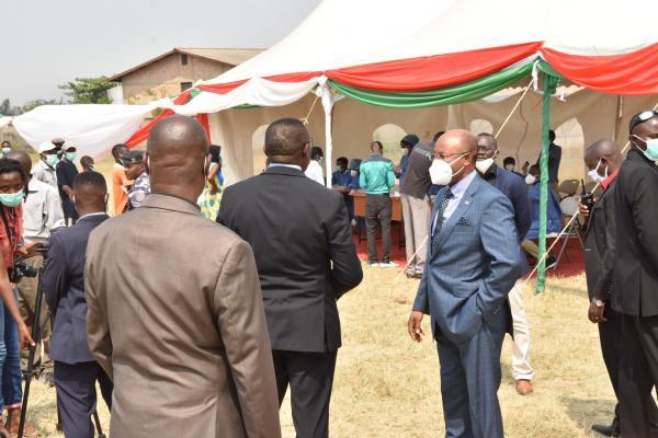 Prime minister Burundi - Covid -19
