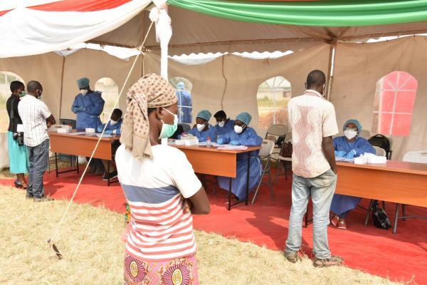 Covid Burundi tests