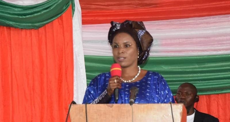 Premiere Dame et jeunes a Gitega