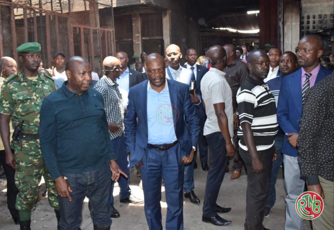 President du Burundi a Kamenge