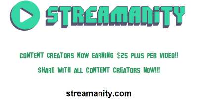 Content Creators - Make Money