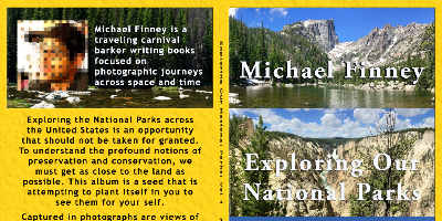 Exploring Our National Parks Vol. 1 Book Promo