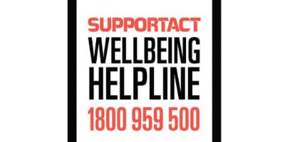 Support Act Wellbeing Helpline Australia