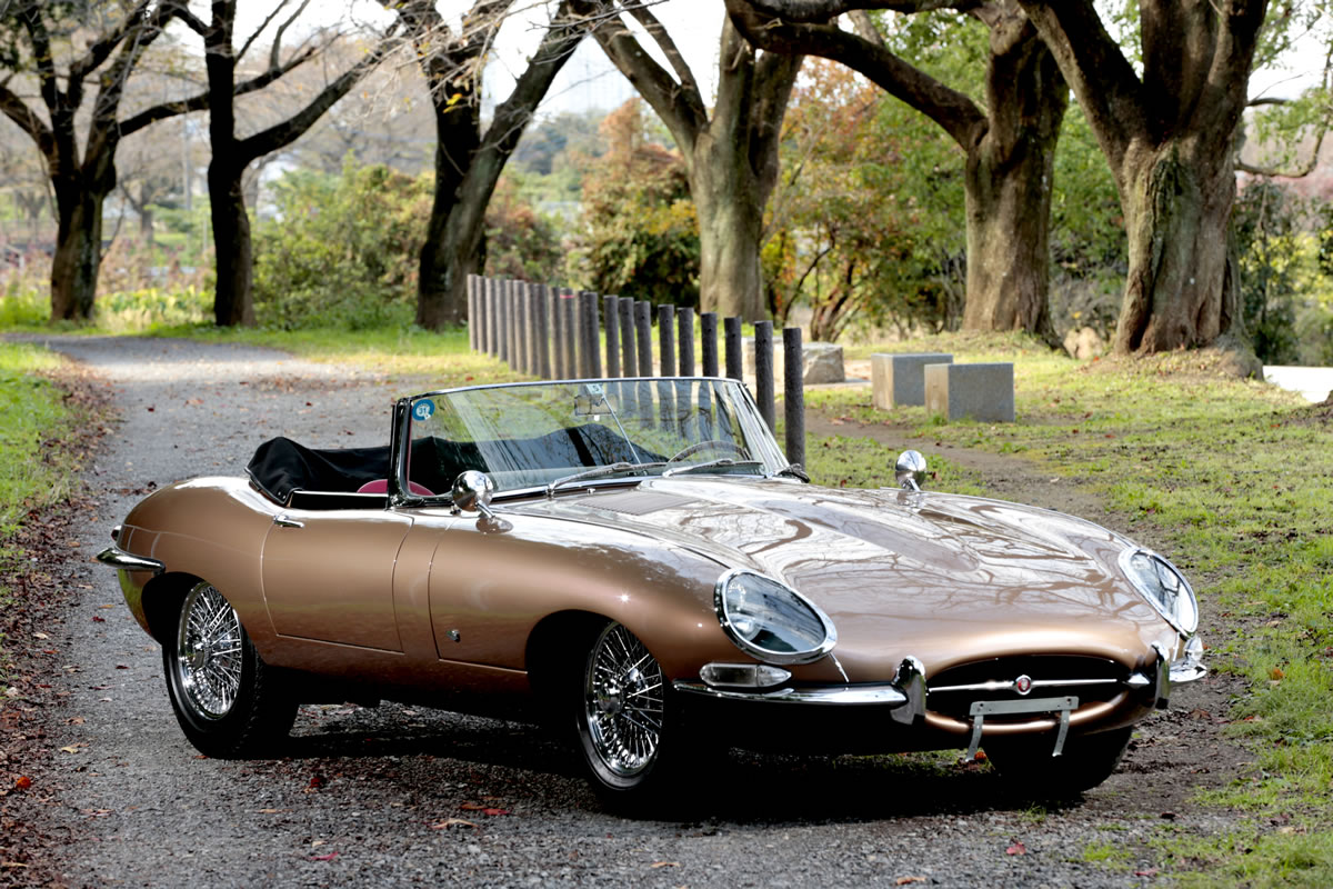 1969年式 ジャガー / Etype シリーズ1 ロードスターを追加
