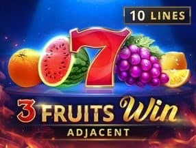 3 Fruits Win: 10 Lines slot game