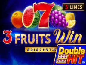 3 Fruits Win Double Hit slot game