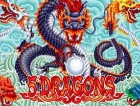 5 Dragons slot game