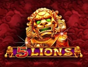 5 Lions slot game