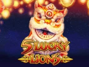 5 Lucky Lions slot game