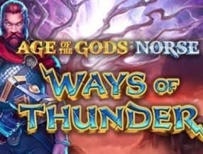Age of the Gods Norse Ways of Thunder slot game