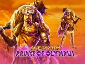 Age of The Gods Prince of Olympus slot game