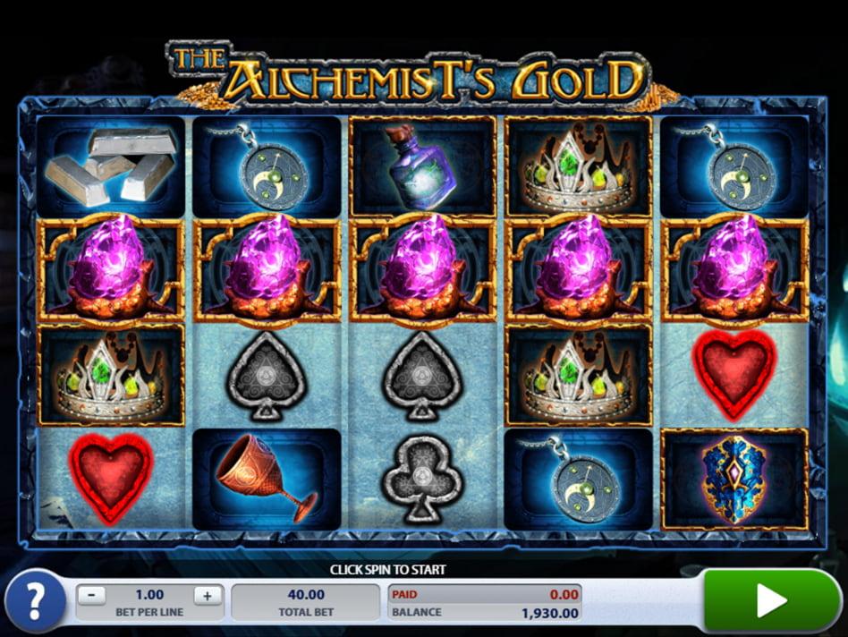 Alchemist's Gold slot game