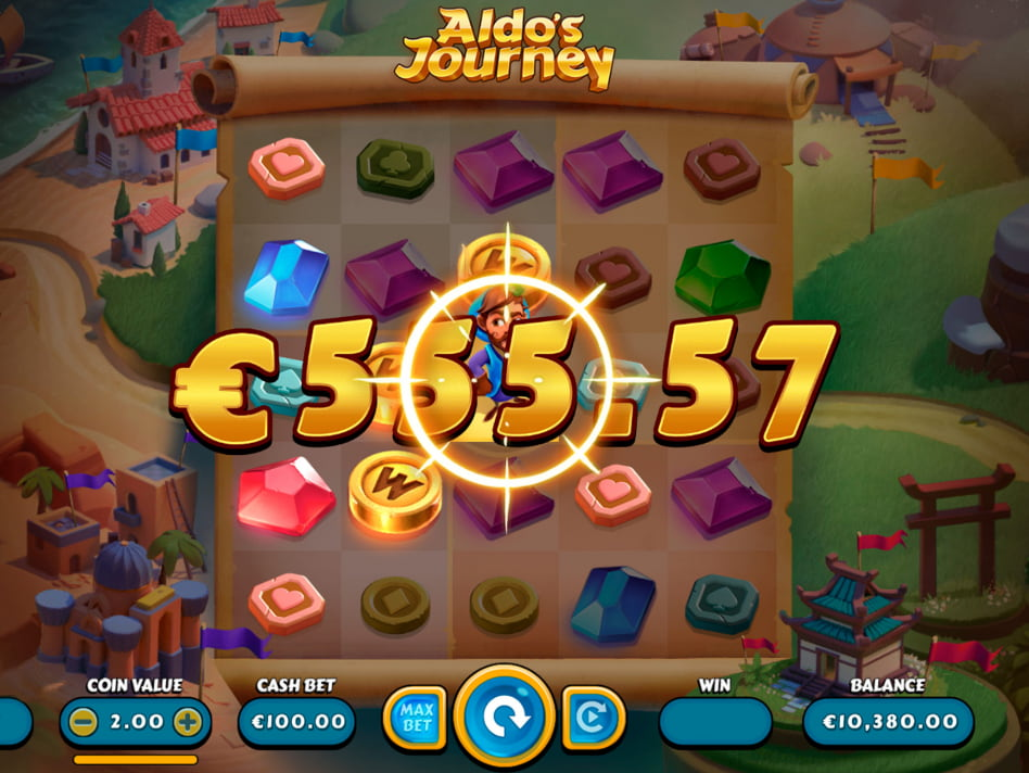 Aldo's Journey slot game