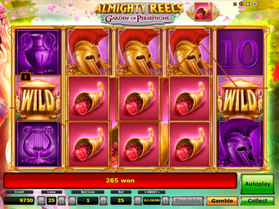 Almighty Reels Garden of Persephone slot game