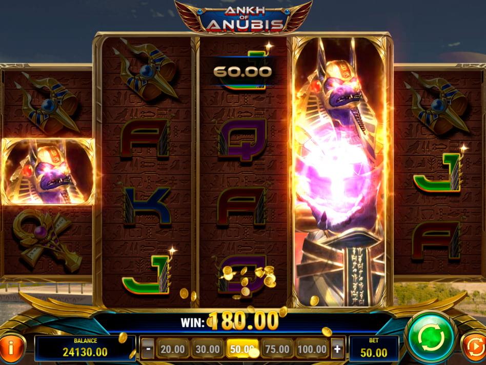 Ankh of Anubis slot game