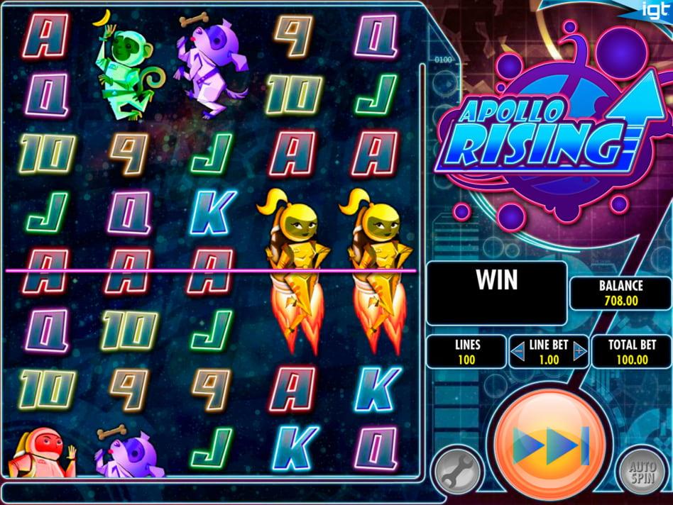 Apollo Rising slot game