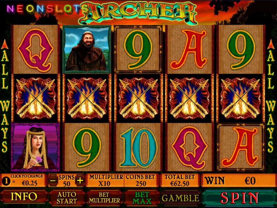 Archer slot game