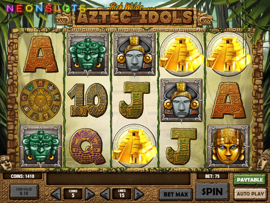 Aztec Idols slot game