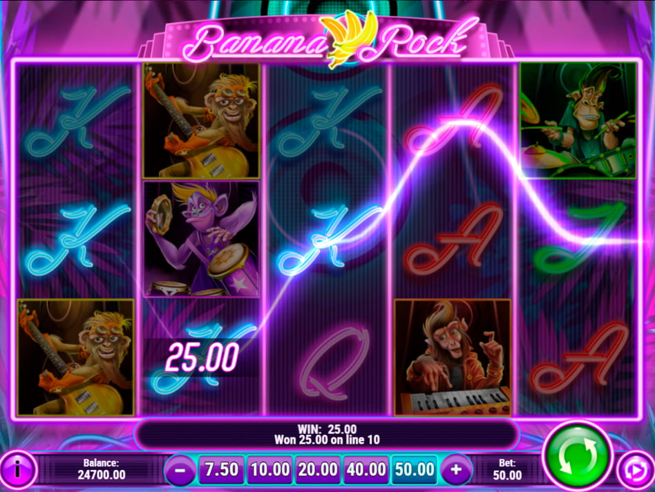 Banana Rock slot game