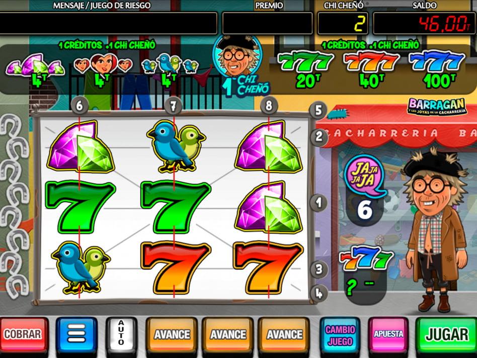 Barragan slot game