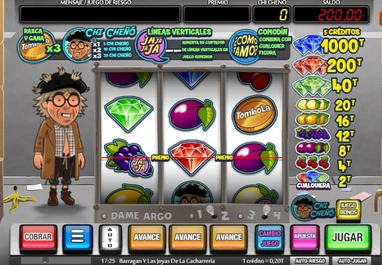 Barragan y Las Joyas De La Cacharreria slot game