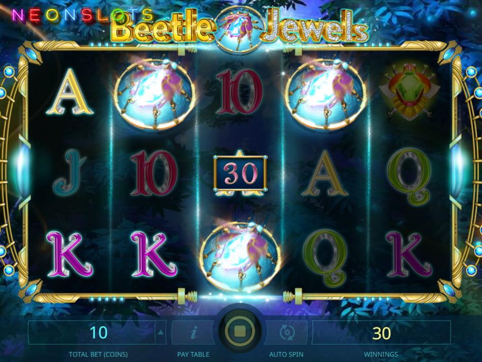 Beetle Jewels slot game