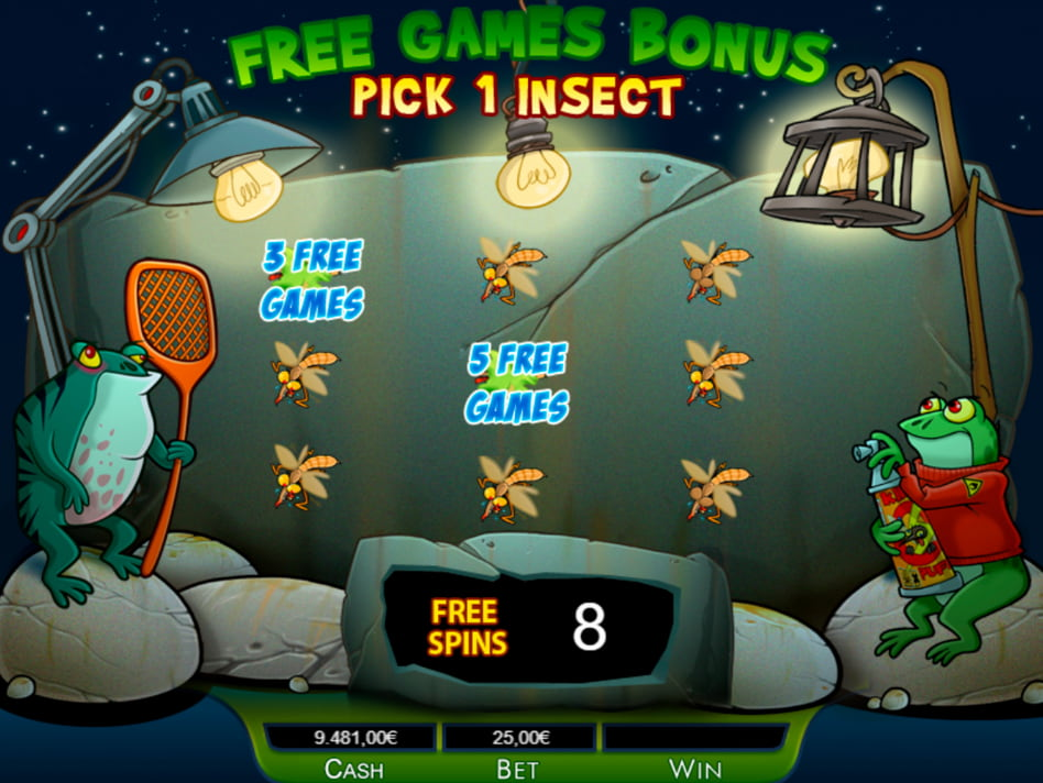 Bichos slot game
