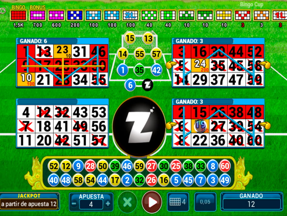 Bingo Cup slot game