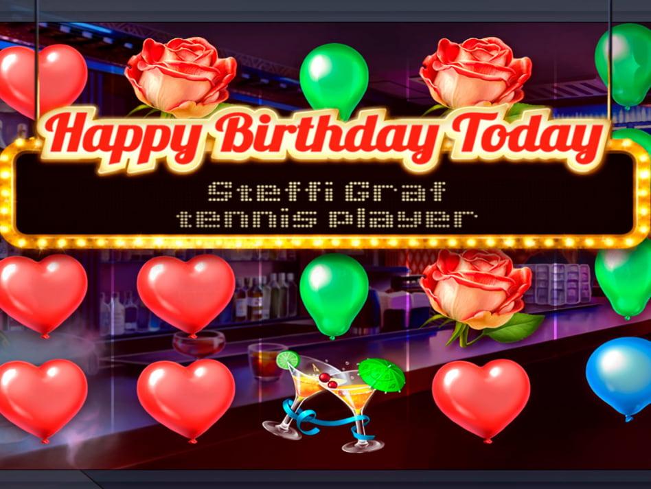 Birthday slot game