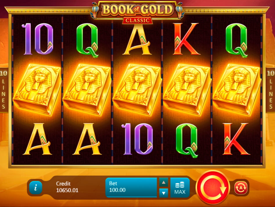 Book of Gold Classic slot game