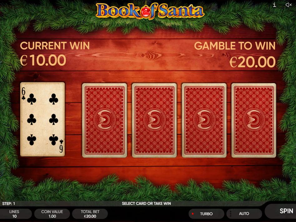 Book of Santa slot game