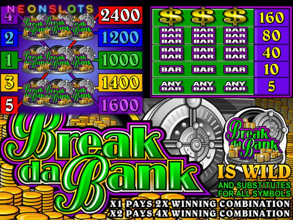 Break da Bank slot game