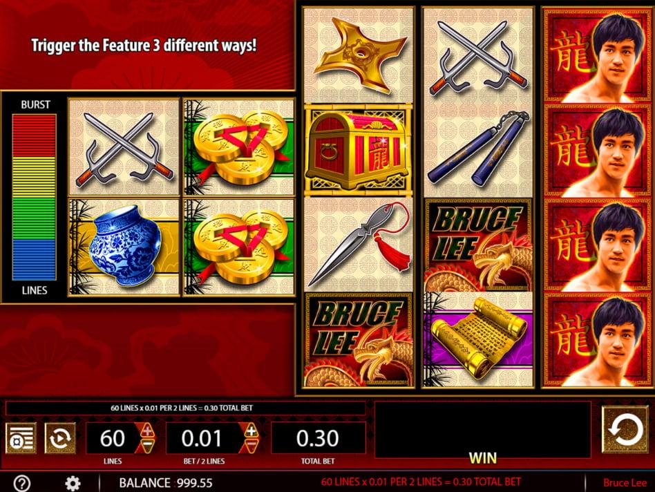 Bruce Lee slot game