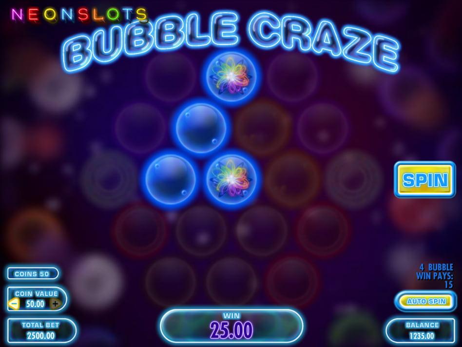 Bubble Craze slot game