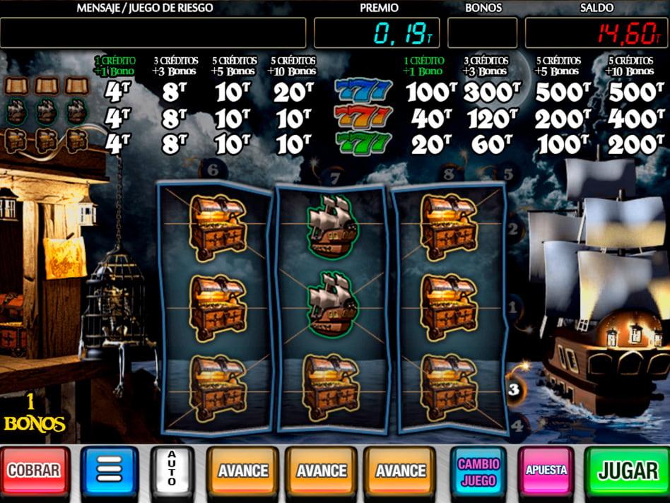 Bucaneros slot game