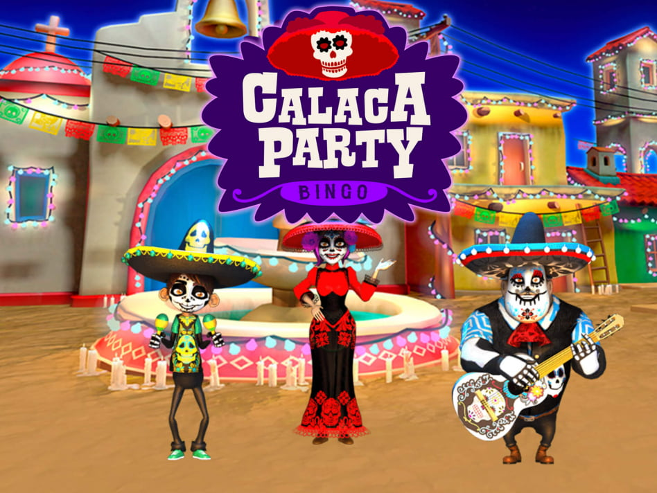 Calaca Party Bingo slot game