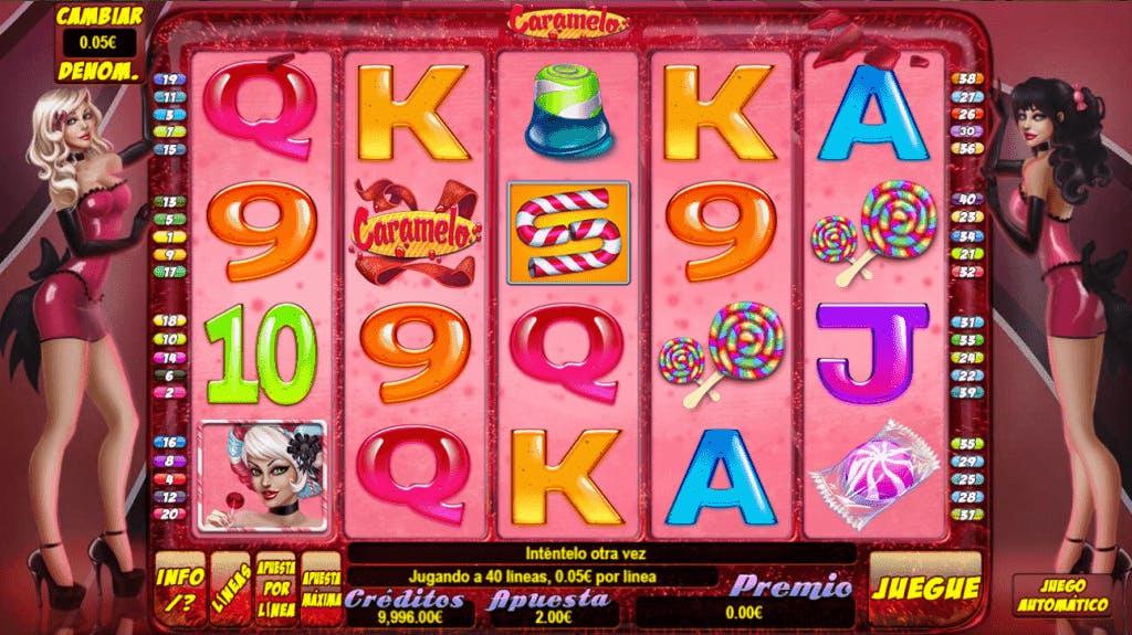 Caramelo slot game