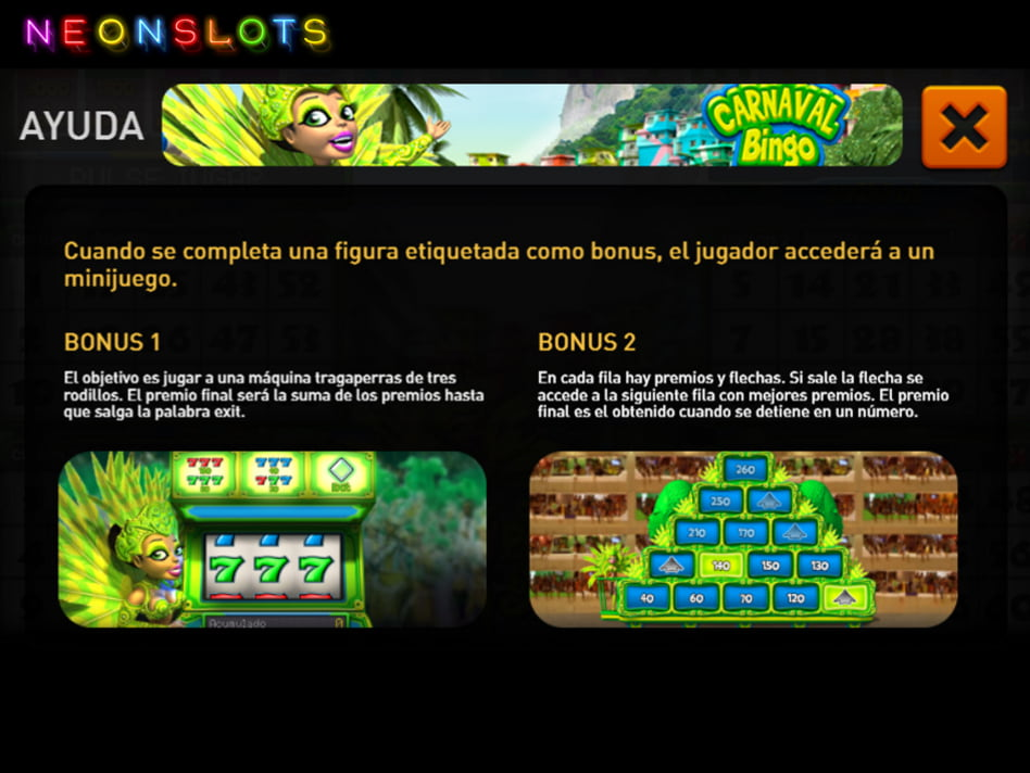Carnaval Bingo slot game