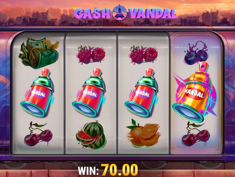 Cash Vandal slot game