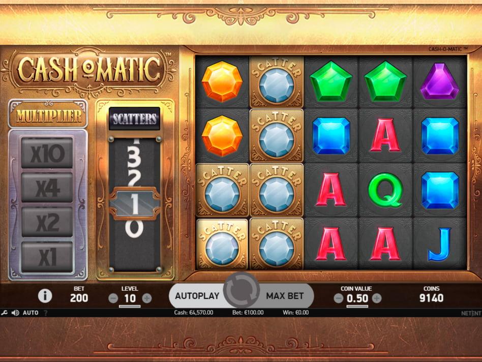 Cashomatic slot game