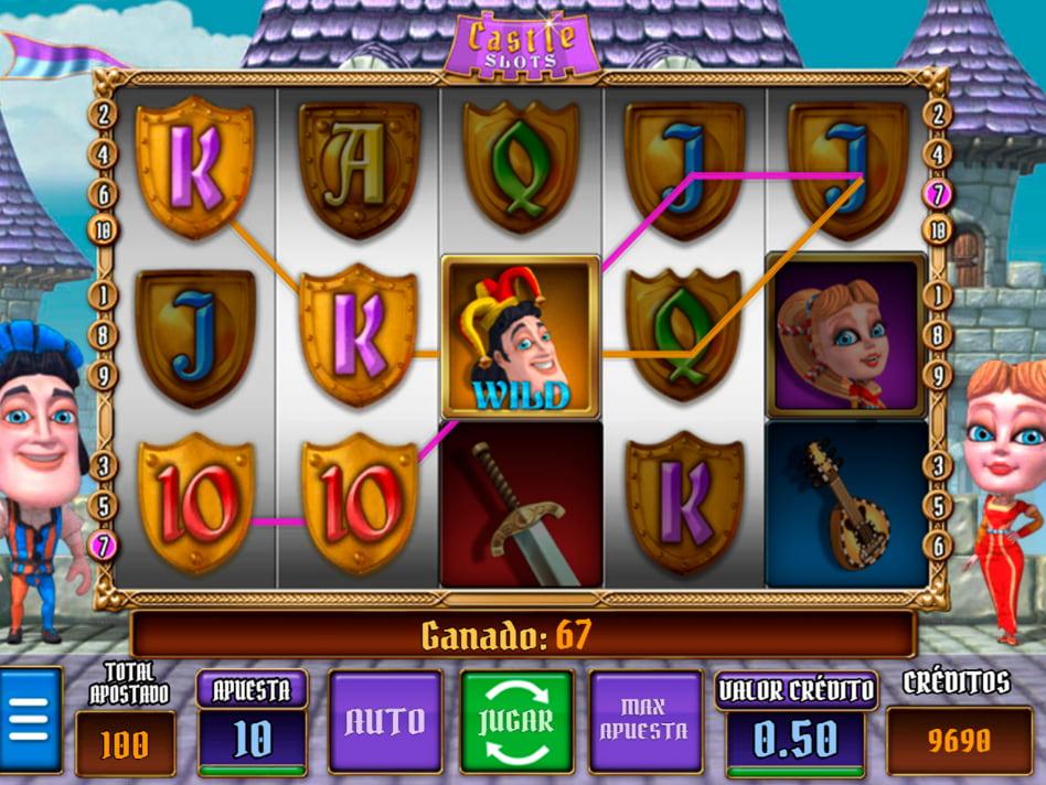 Castle slot game