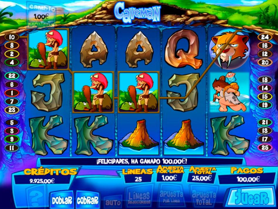 Caveman slot game