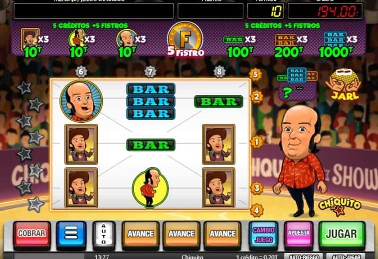 Chiquito slot game